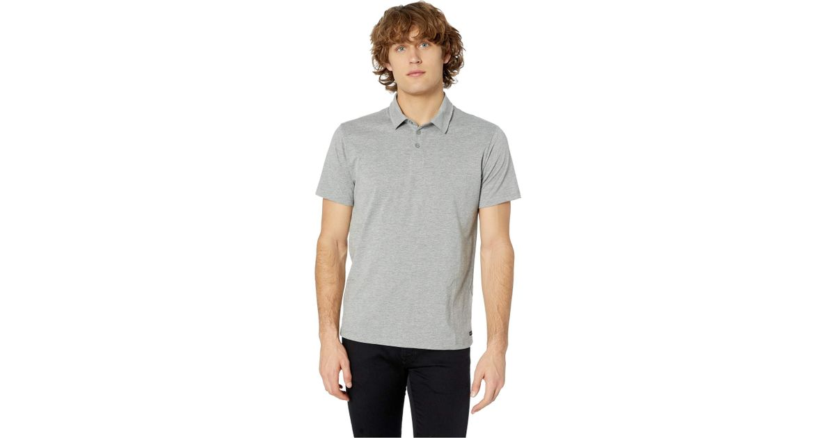 26bfbe2d03 Lyst - RVCA Sure Thing Ii Polo (arona Blue) Men's Clothing in Gray for Men