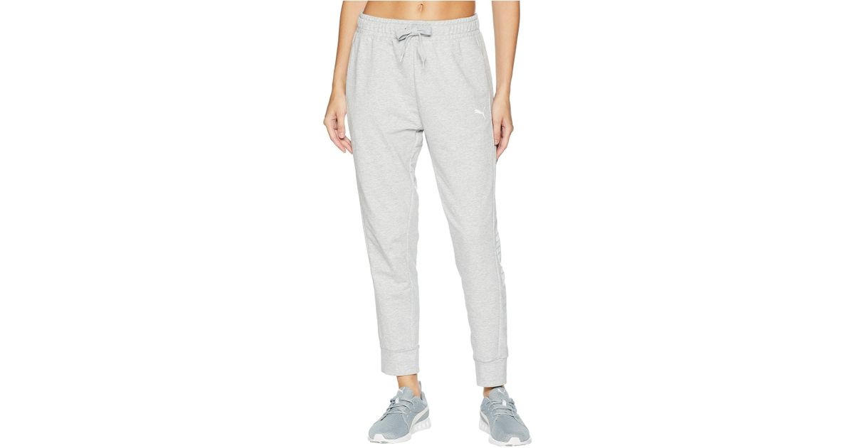 4bb02471299f79 PUMA Modern Sport Track Pants in Gray - Save 67% - Lyst