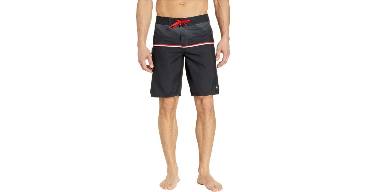 ce099a05b63a Lyst - Quiksilver Everyday Division 20 Boardshorts (black) Men's Swimwear  in Black for Men