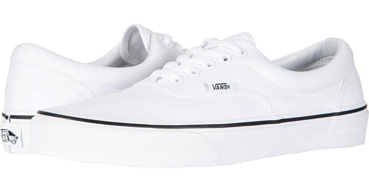 4d4478b73de5 Lyst - Vans Eratm Core Classics (black classic Gum) Shoes in White