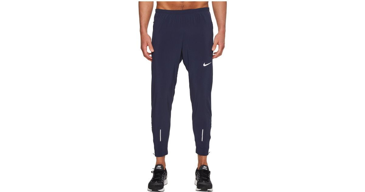 c783a359a1a8 Lyst - Nike Flex Essential Running Pant in Blue for Men