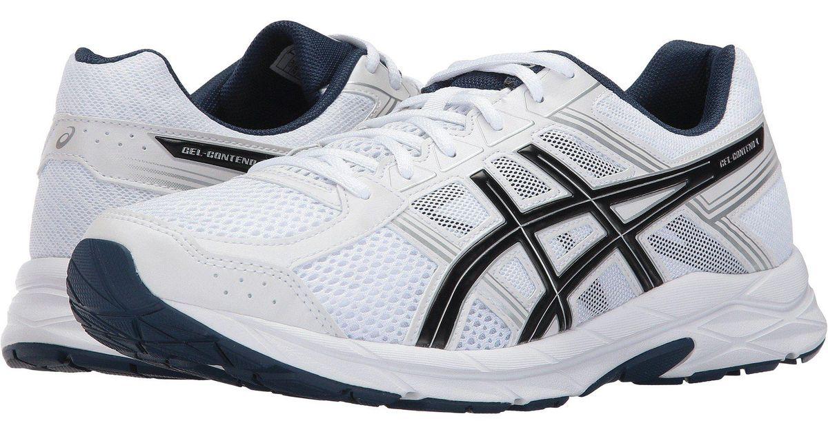 Lyst - Asics Gel-contend 4 (black silver carbon) Men s Running Shoes in  Blue for Men b4dd093d2ad