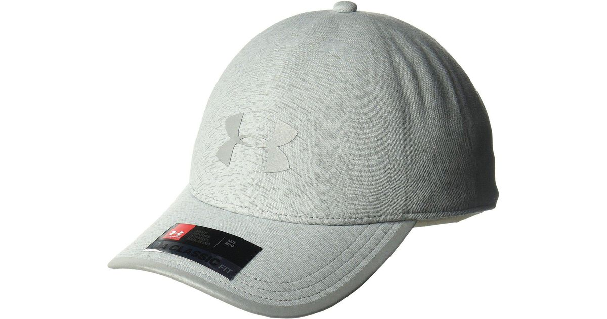 the best attitude 812d4 e3a31 Lyst - Under Armour Flash 1 Panel Cap in Gray for Men