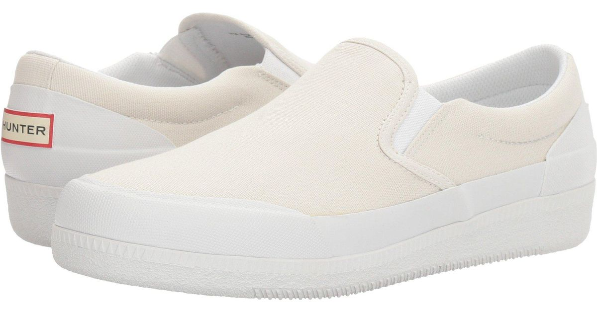 Hunter Original Canvas Plimsoll 4GBlc1pwT2
