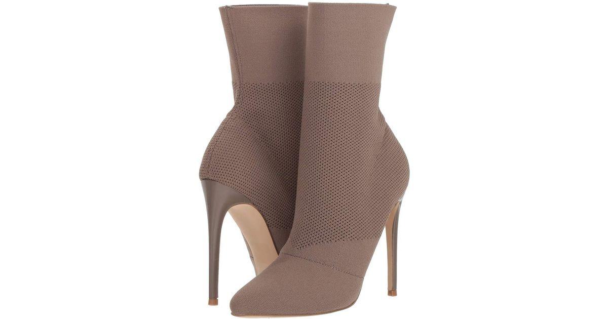 Lyst Steve Madden Century Dress Boot Burgundy Women S Dress Pull