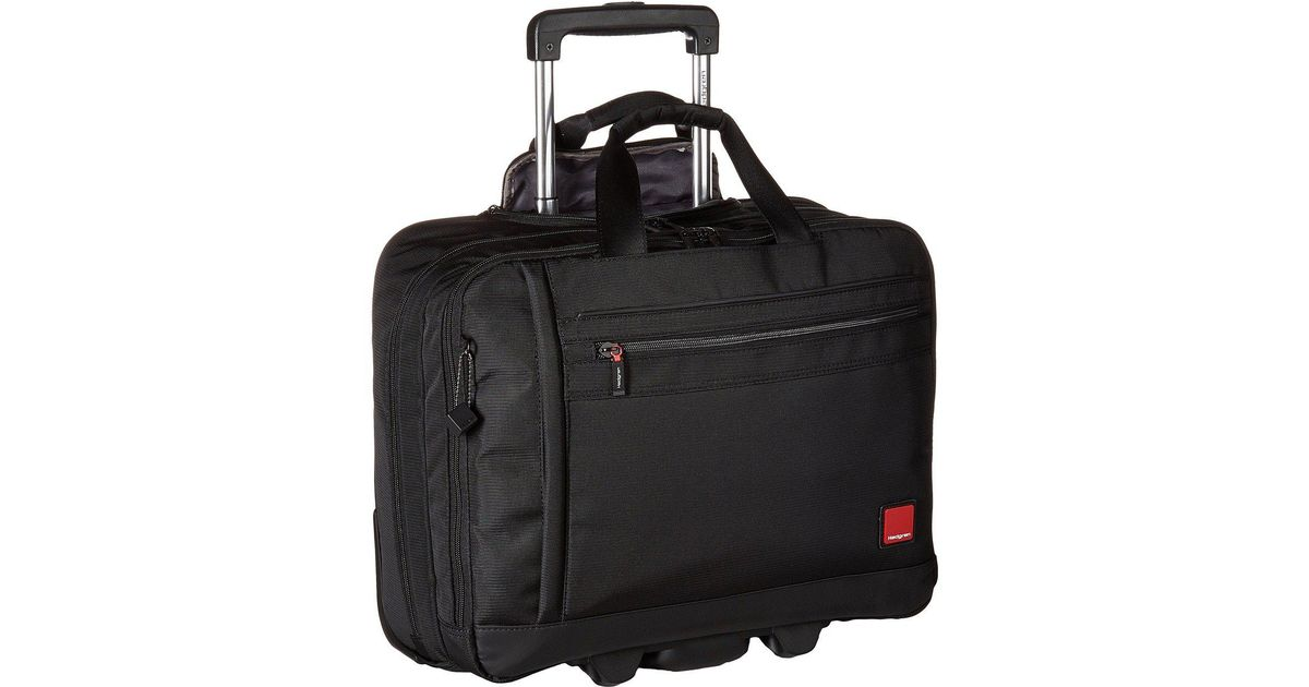 8cd6f85830 Lyst - Hedgren Rotor Mobile Office 15.6 (black) Bags in Black