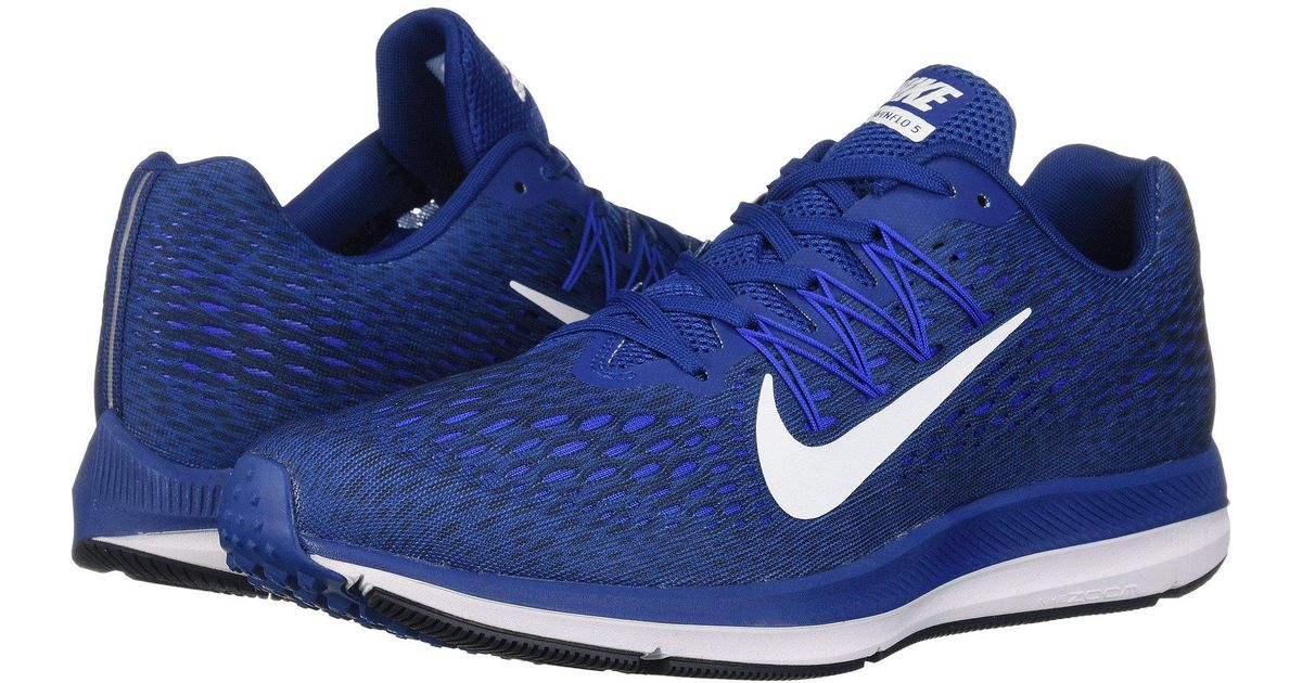 separation shoes 70223 3987e Nike Zoom Winflo 5 Low-top Sneakers in Blue for Men - Lyst