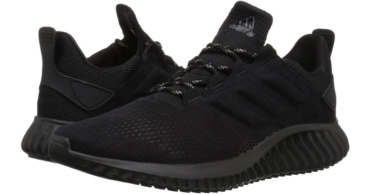 df7f3d9eb2f1f Lyst - adidas Originals Alphabounce Cityrun (black black black) Women s  Shoes in Black