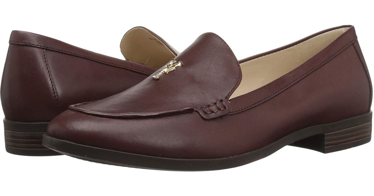 69429c1f0b3 Lyst - Cole Haan Pinch Lobster Loafer (cordovan Leather) Women s Lace Up  Casual Shoes in Brown