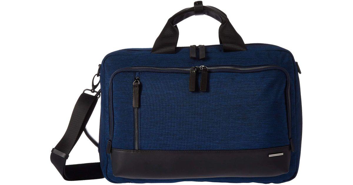 446eead3ce38 Lyst - ZERO HALLIBURTON 17 Lightweight Business Nylon - Convertible  Three-way Bag (black) Bags in Blue for Men