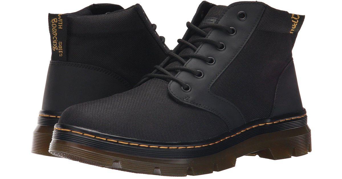 e5992a0d9ec Dr. Martens Bonny Chukka Boot (black/extra Tough Nylon/rubbery) Men's  Lace-up Boots for Men - Lyst