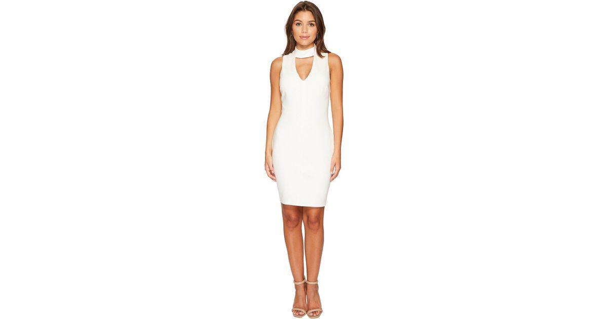 Lyst Adelyn Rae Nicole Bodycon Dress In White