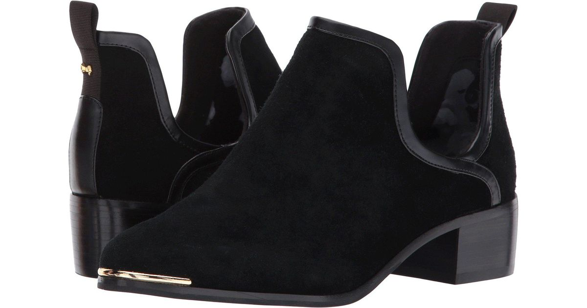 bd6e663797a8 Lyst - Ted Baker Twillo Chelsea Boot in Black - Save 54%