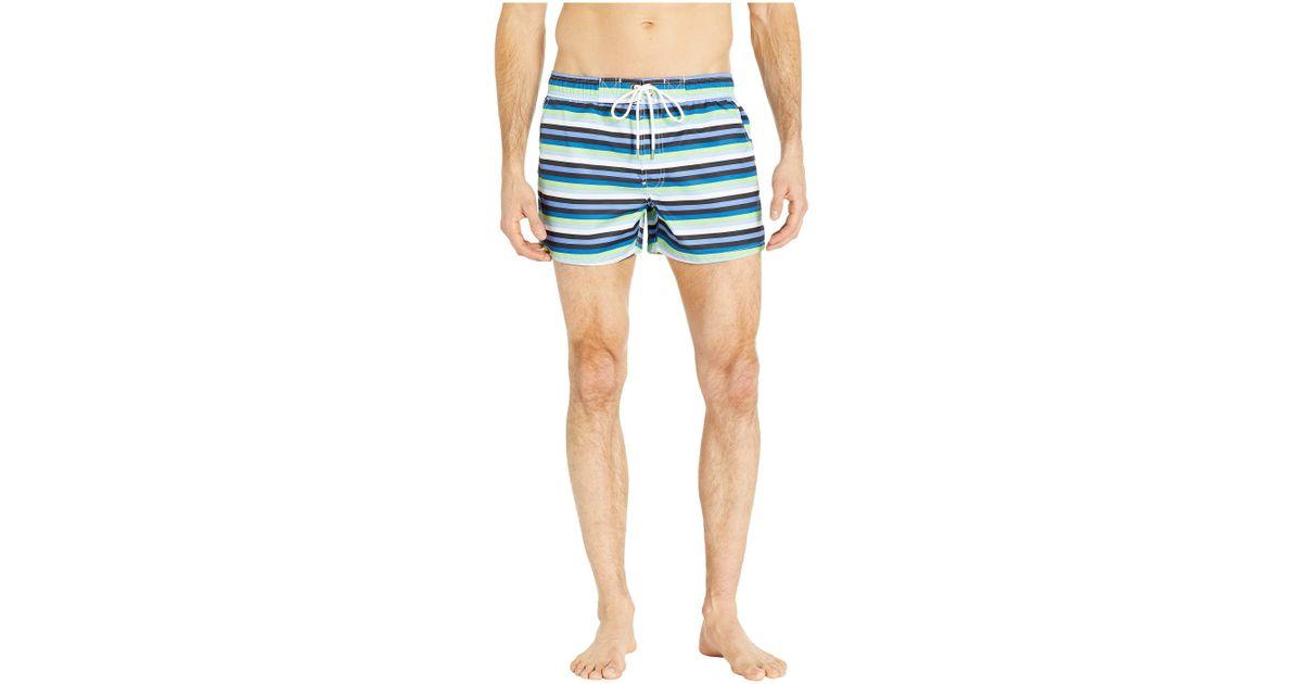 d2a0ebd27b 2xist 2(x)ist Fashion Woven Ibiza Swim Shorts (check/black/white/lime Green  Drawcord) Men's Swimwear in Blue for Men - Lyst