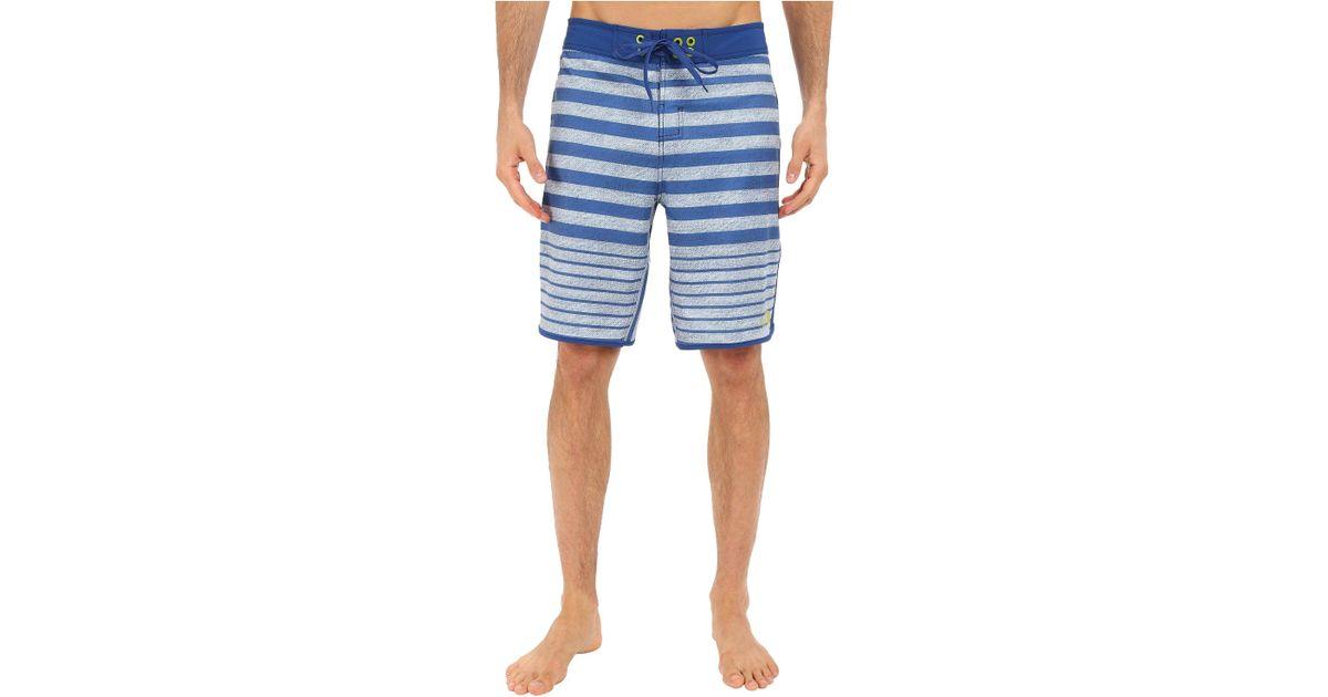 37052edab5 The North Face Whitecap Boardshorts (limoges Blue Dash Stripe (prior  Season)) Men's Swimwear in Blue for Men - Lyst