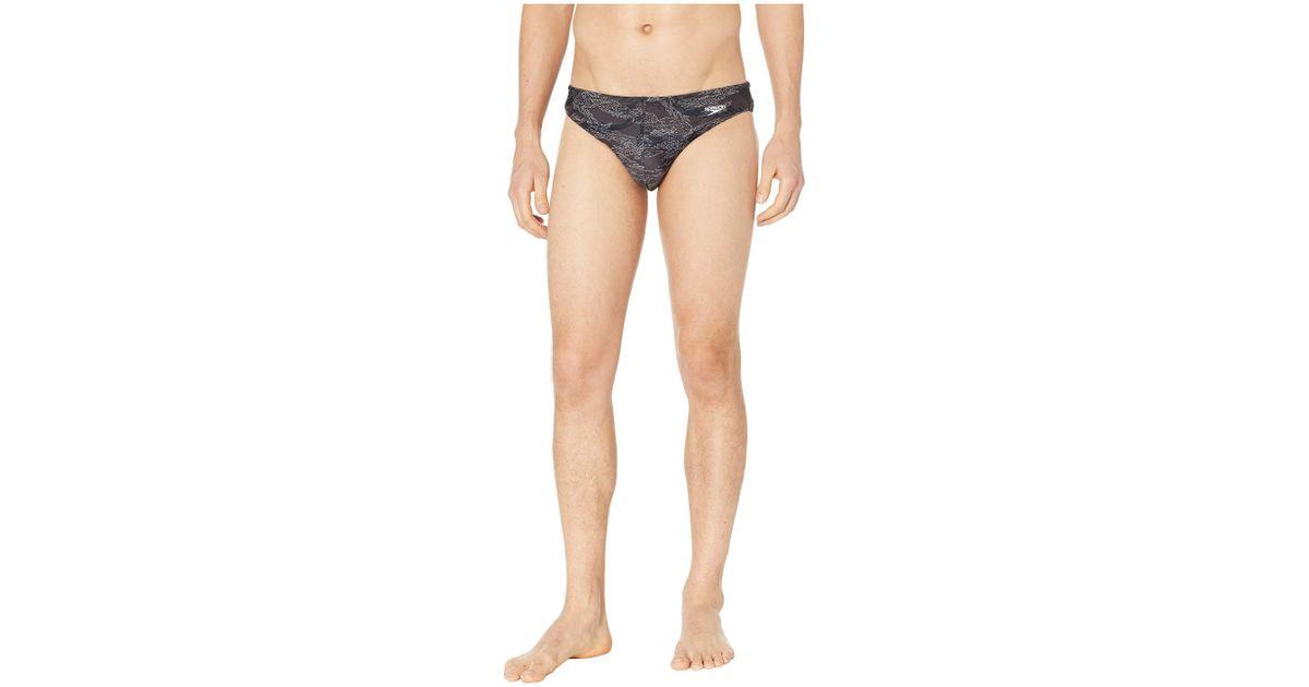 95ee1320820 Speedo Solar 1 Brief (black/white) Men's Swimwear in Black for Men - Lyst