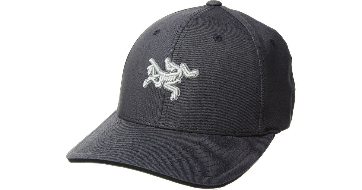52fbd6d7575 Lyst - Arc teryx Embroidered Bird Cap (black) Caps for Men