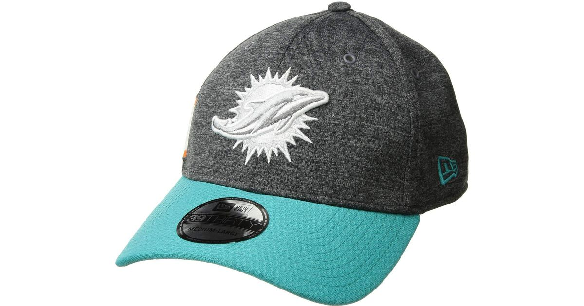 291ee2af760 Lyst - Ktz Miami Dolphins 3930 Home (dark Grey) Baseball Caps in Gray for  Men