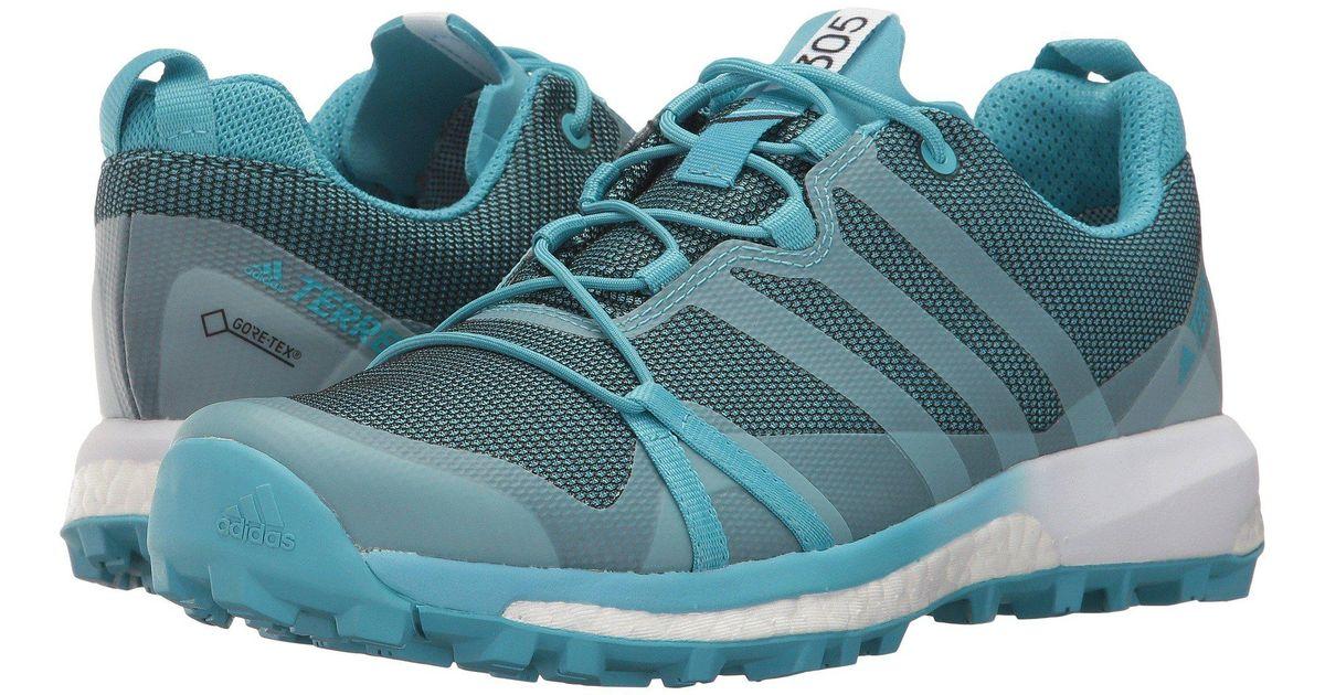 the best attitude 62329 593a0 Lyst - Adidas Terrex Agravic Gtx in Blue