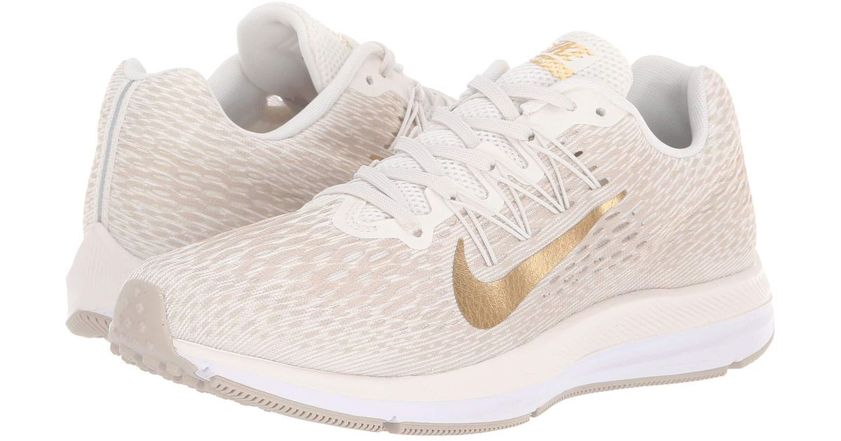 official photos 8e4bb e003c Lyst - Nike Air Zoom Winflo 5 (black white anthracite) Women s Running  Shoes in White