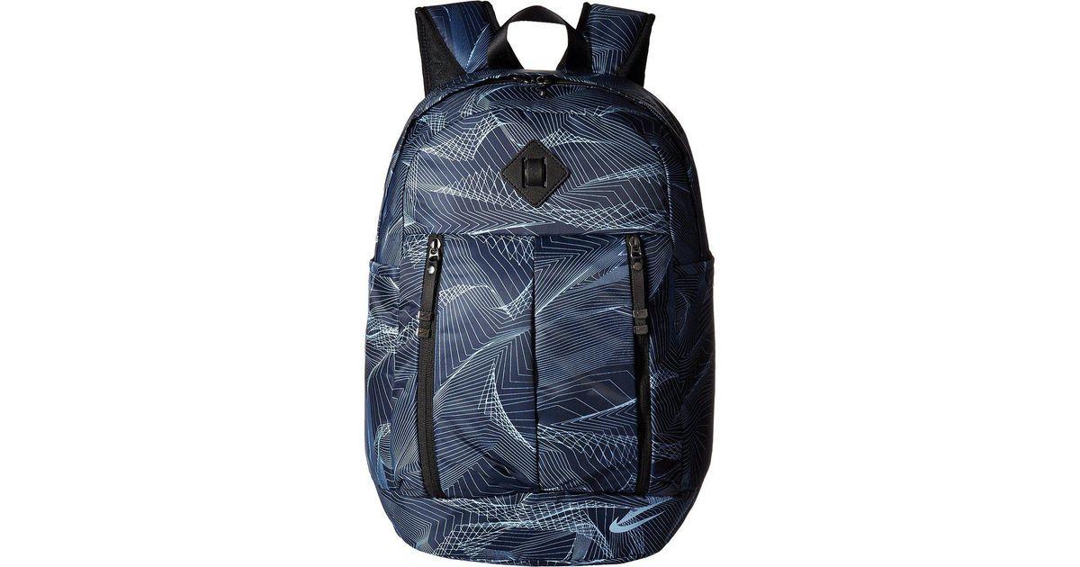 272c96ca1d01 Lyst - Nike Auralux Backpack - Print in Blue