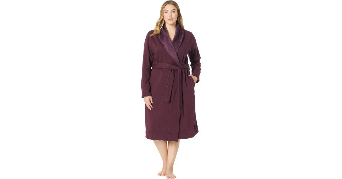 e425136f80 Lyst - UGG Plus Size Duffield Ii Robe (black Bear Heather) Women s Robe in  Purple