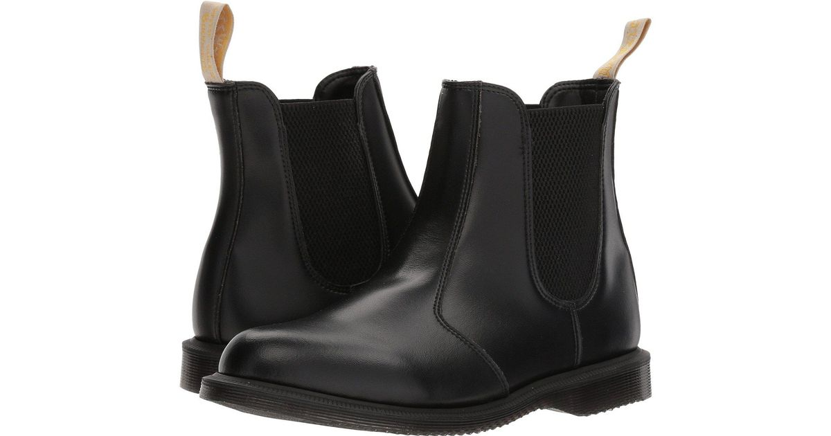 Lyst - Dr. Martens Vegan Flora (black Felix Rub Off) Women s Shoes in Black eaecb24e30