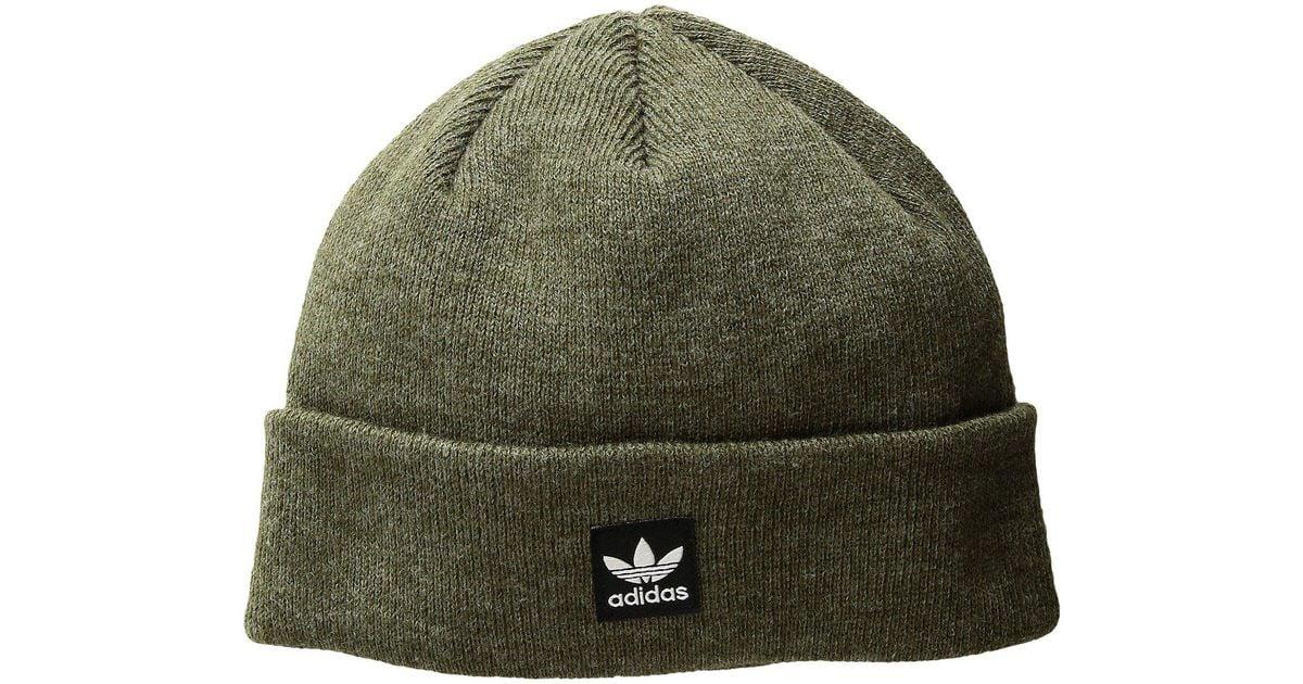 d9446b77dd2 Lyst - adidas Originals Originals Starboard Knit Beanie in Green for Men