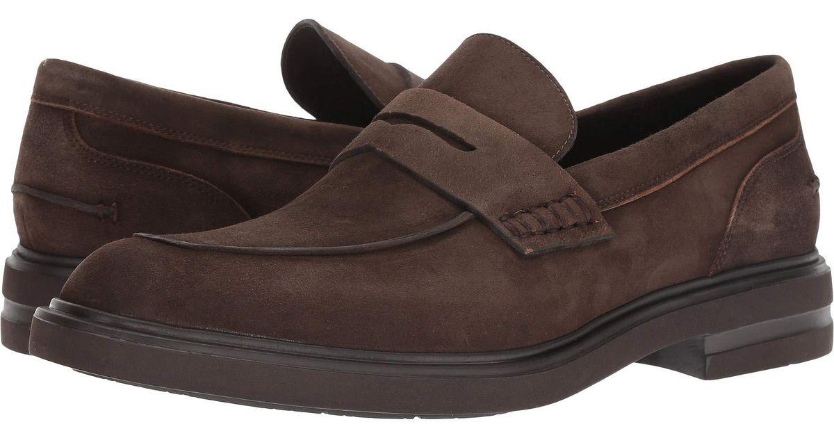 1006071b366 Lyst - Donald J Pliner Edmund (expresso Washed Suede) Men s Shoes in Brown  for Men