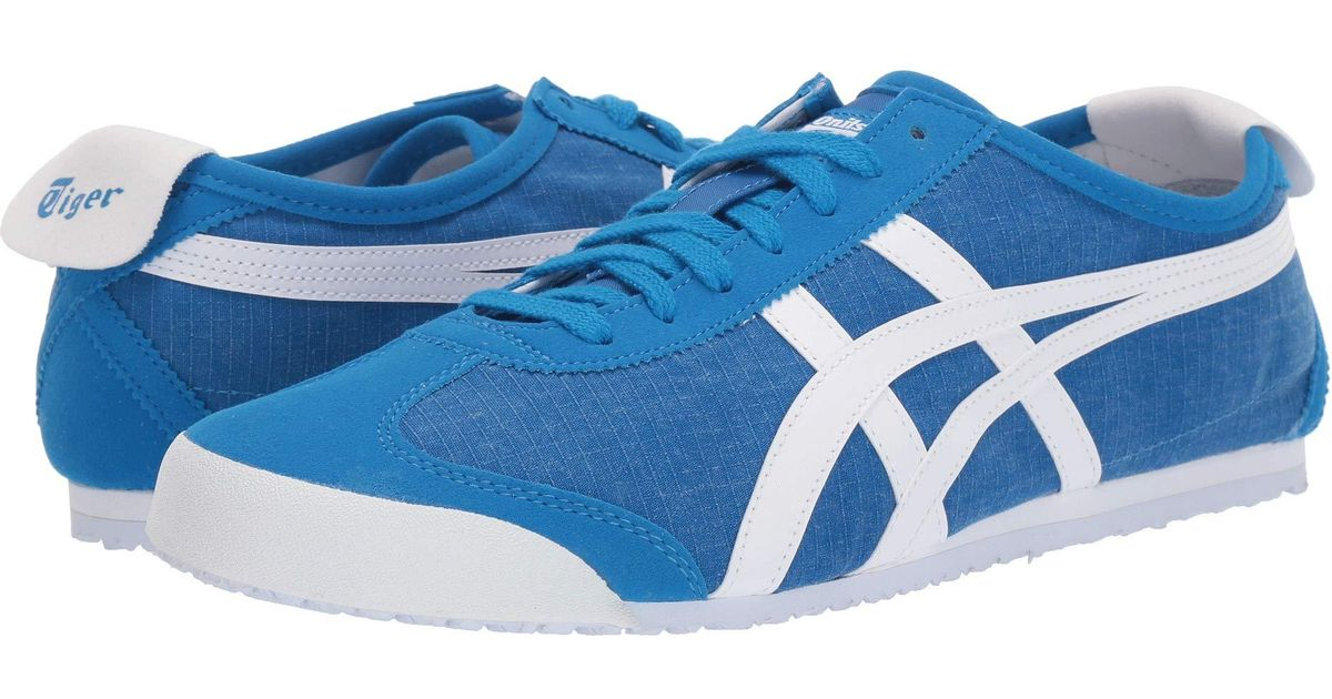 b25a7895ab Onitsuka Tiger - Mexico 66 (directoire Blue/white) Lace Up Casual Shoes for  Men - Lyst