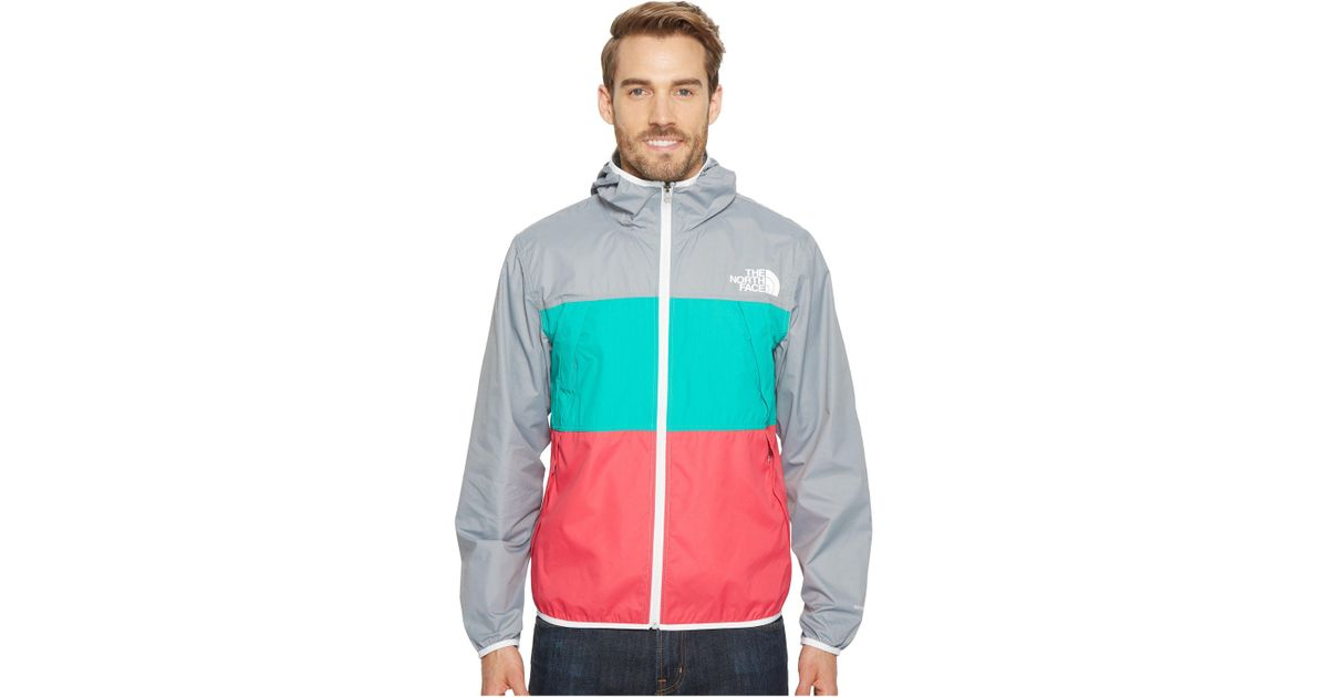 885d651dd84f Lyst - The North Face Telegraph Wind Jacket (urban Navy raspberry Red tnf  Yellow) Men s Coat in Green for Men