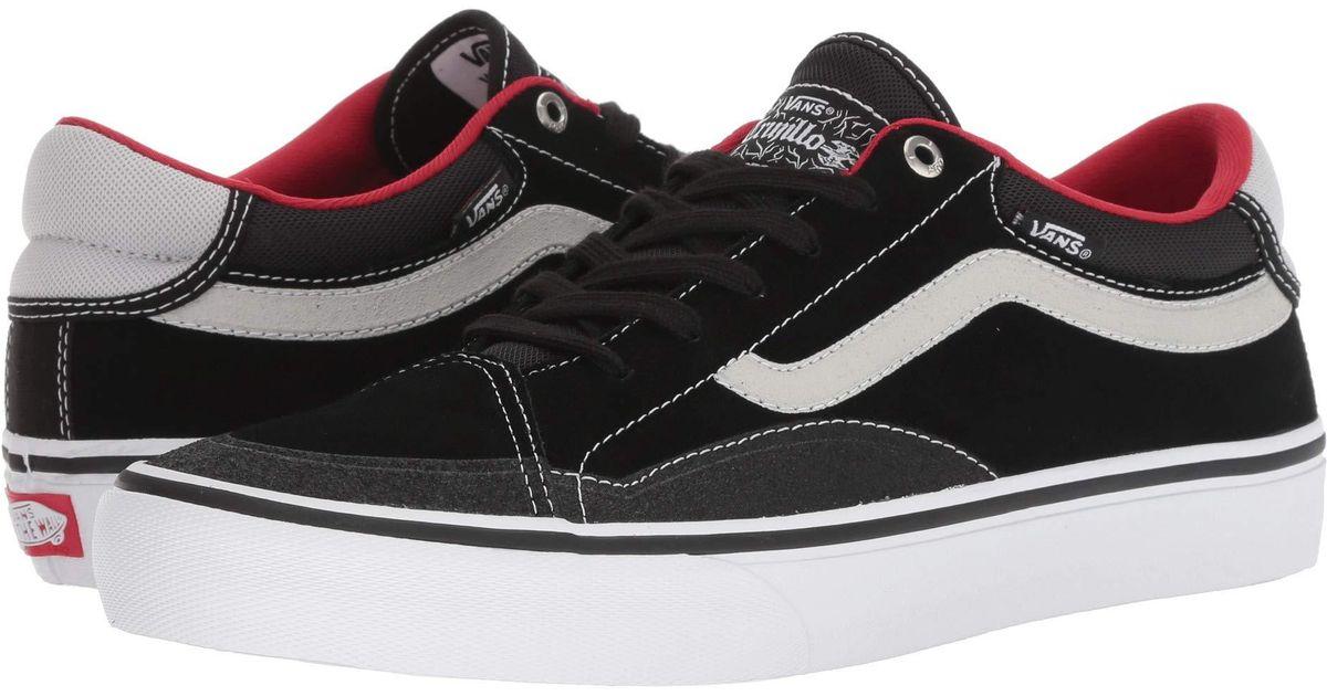 89ee16f325f5 Lyst - Vans Tnt Advanced Prototype (black magenta white) Men s Skate Shoes  in Black for Men