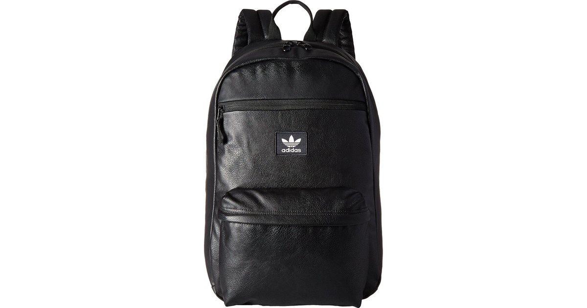 47450270a6 Lyst - adidas Originals Originals National Premium Backpack (black) Backpack  Bags in Black for Men
