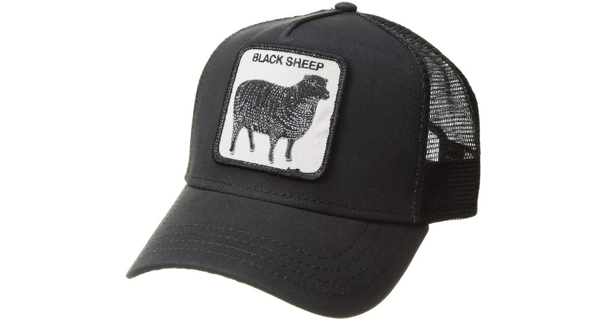 7e4bfaa9939591 Goorin Bros Animal Farm Snap Back Trucker Hat (navy Cougar) Caps in Black  for Men - Lyst