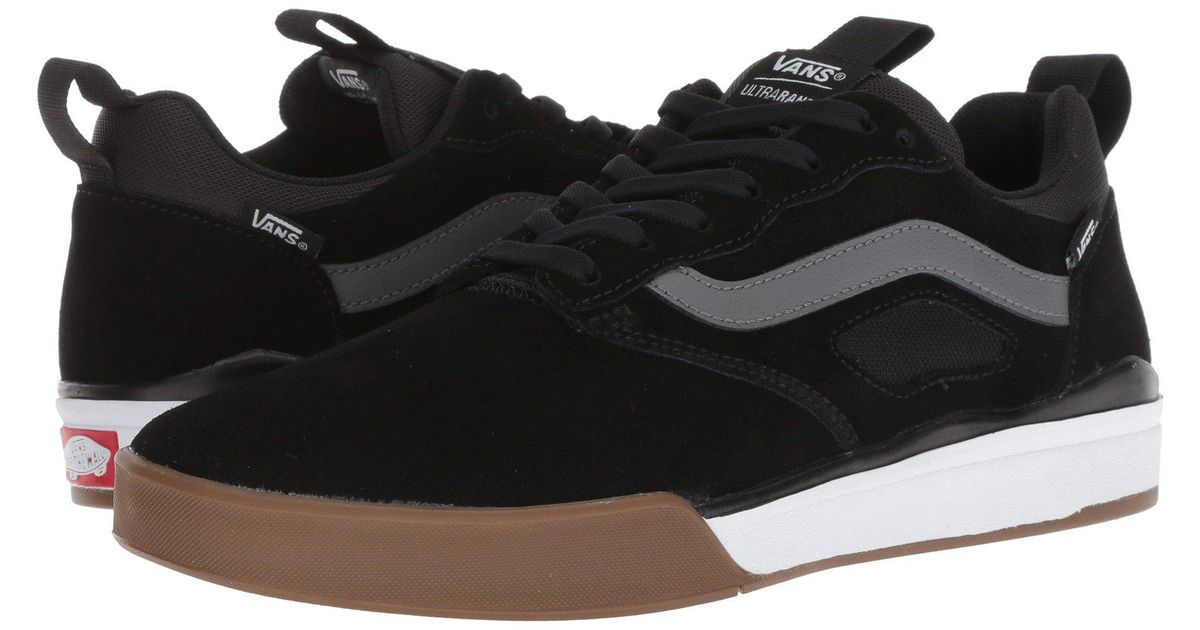 06b9b1db9543 Lyst - Vans Ultrarange Pro ((mesh) Asphalt port Royale) Men s Skate Shoes  in Black for Men