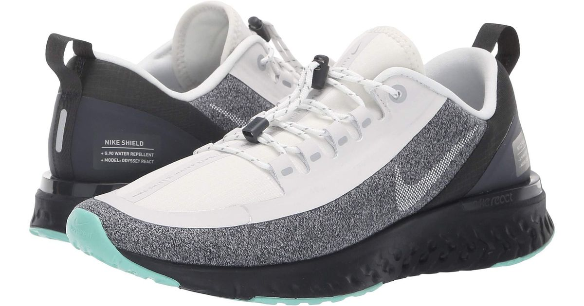 on sale f6de2 92162 Lyst - Nike Odyssey React Shield in Metallic - Save 13%