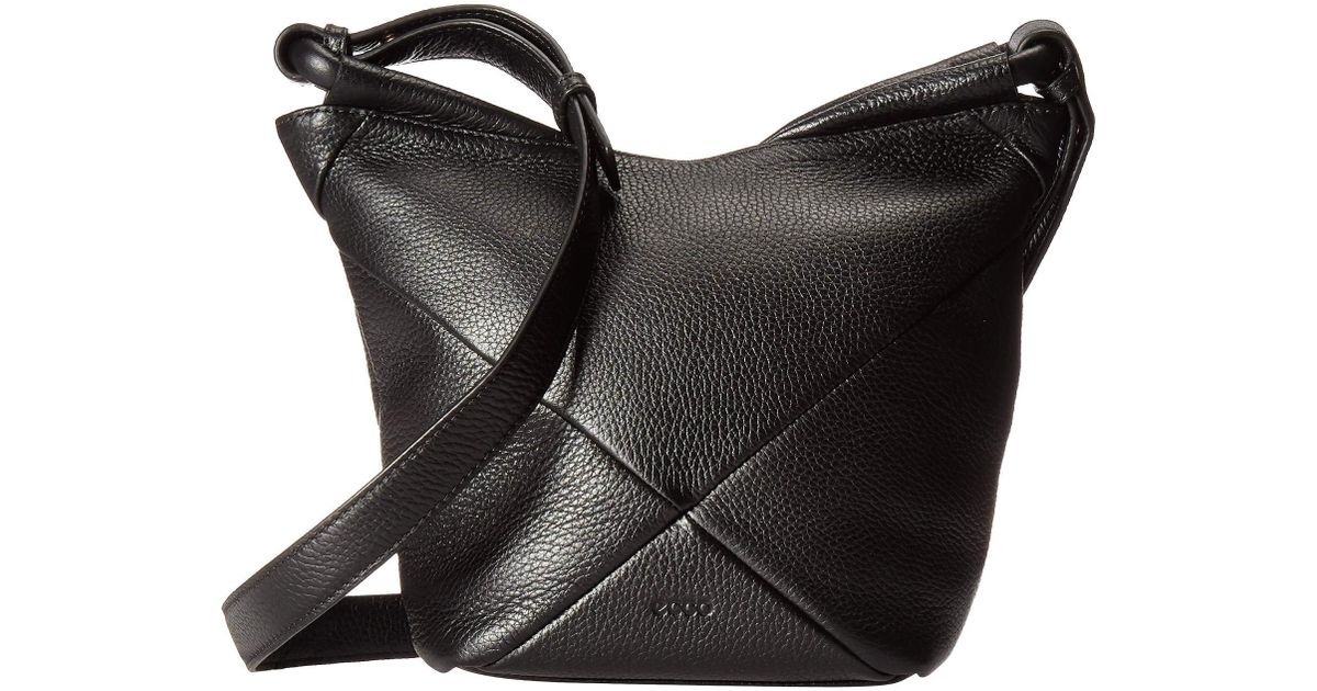 eb4058eff1ee Lyst - Ecco Linnea Crossbody (black) Cross Body Handbags in Black