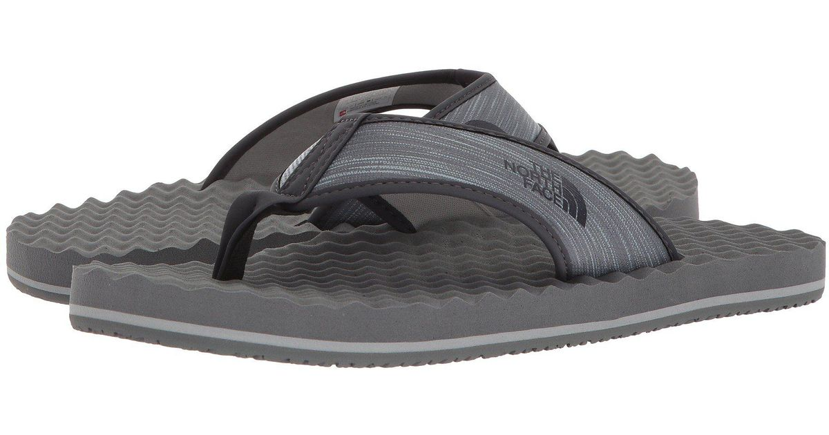 9b08ba8a051adc Lyst - The North Face Base Camp Flip-flop in Gray for Men
