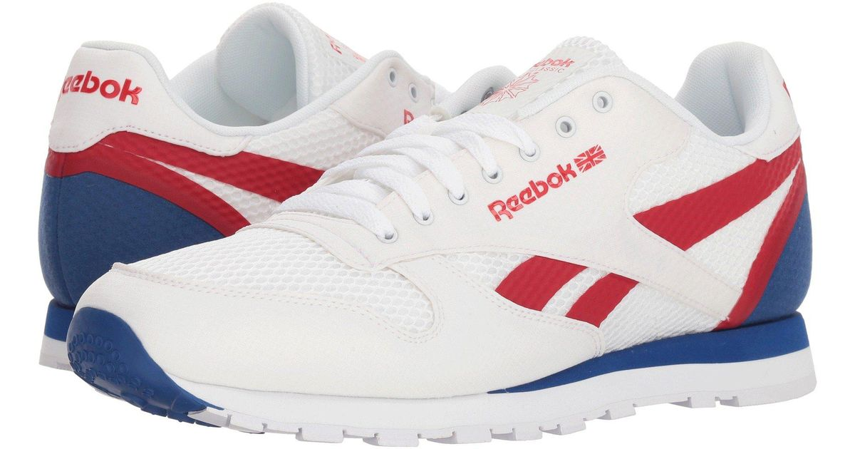 05d76287cba3 ... Ripple Low BP White Team Dark Royal Excellent Red Snow (Men)  Lyst - Reebok  Classic Leather Mvs (whiteexcellent Redteam Dark Royal) Mens Classic Shoes  ...