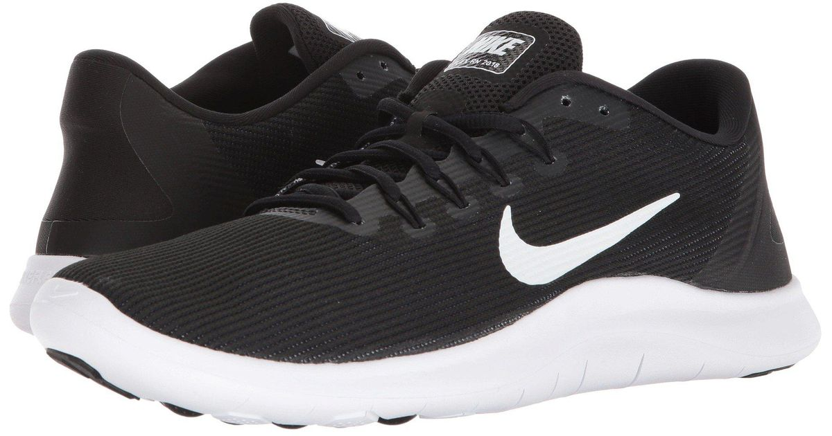 9e81d058a3635 Lyst - Nike Flex Rn 2018 (black white) Men s Running Shoes in Black for Men