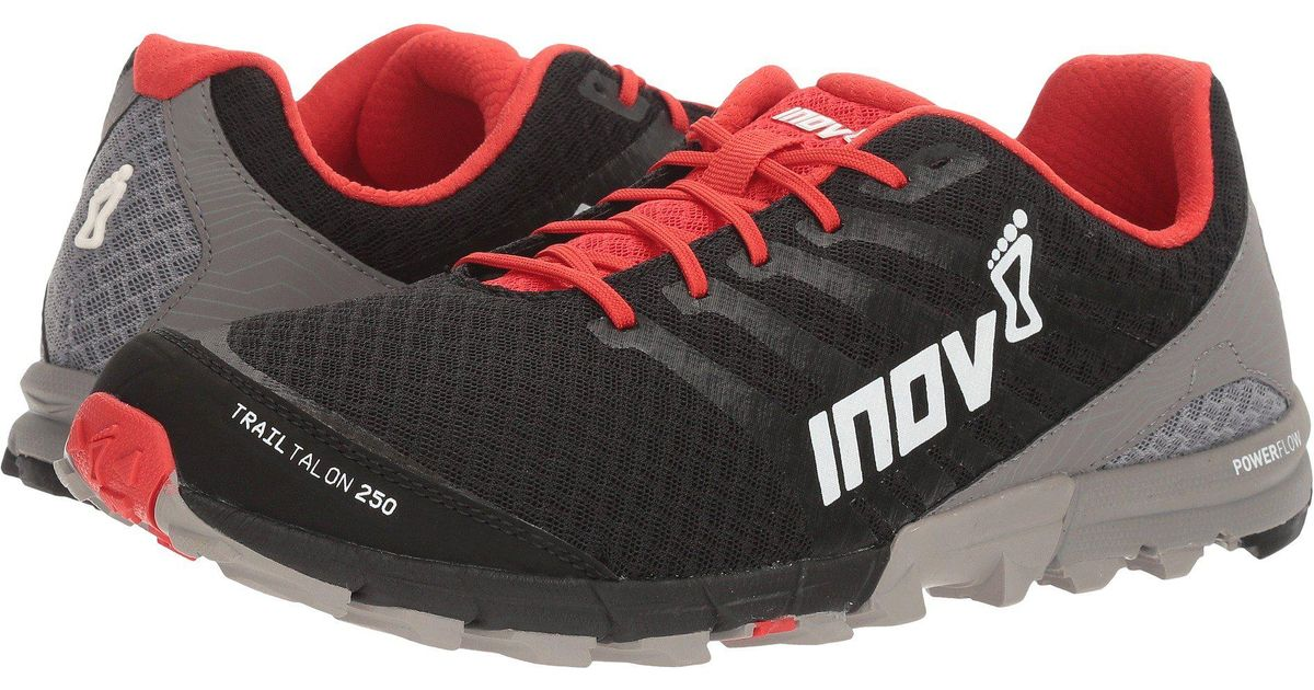 Lyst - Inov-8 Trailtalon 250 (black red grey) Men s Running Shoes in Red  for Men fe55b4b0e08