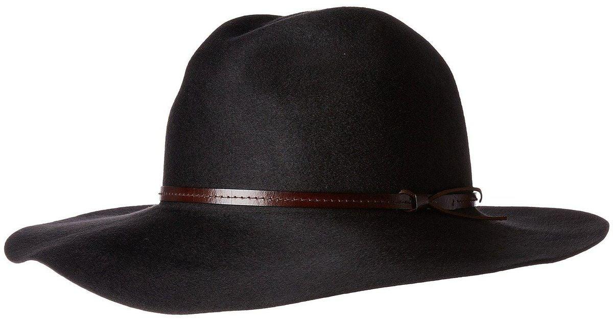 Lyst - Pendleton Marni Fedora Hat in Black for Men 21dda772e62
