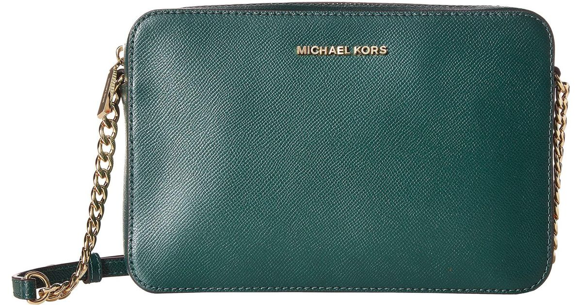 b18e1e30fabede MICHAEL Michael Kors Large East/west Crossbody (acorn) Cross Body Handbags  in Green - Lyst