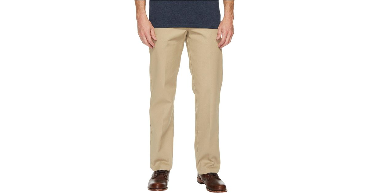 b1a6ce76582 Lyst - Dickies Slim Straight Work Pants (khaki) Men s Casual Pants in  Natural for Men