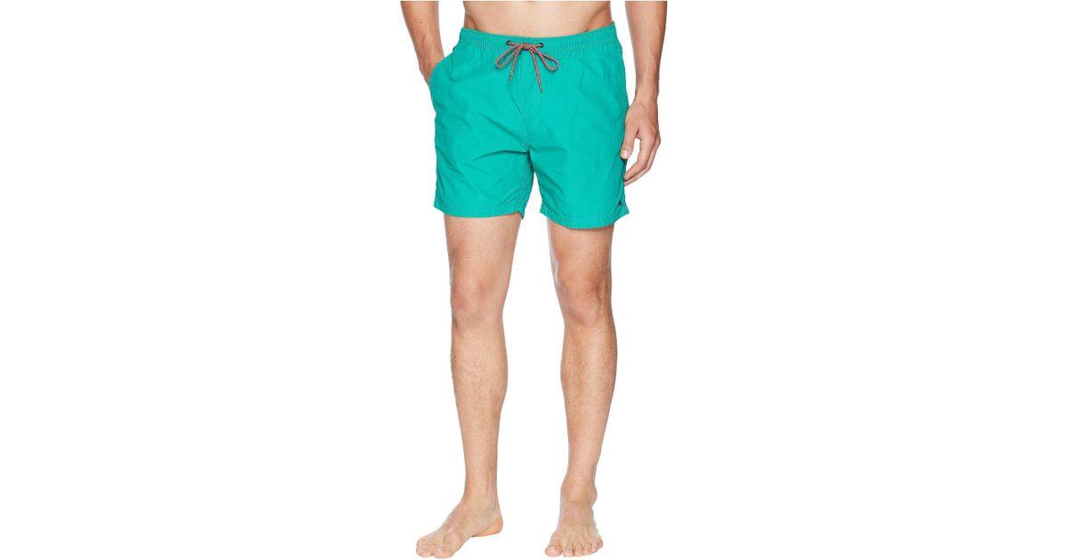 ff798ba159 Scotch & Soda Classic Swim Shorts In Bright Colours (spearmint) Swimwear in  Green for Men - Save 35% - Lyst