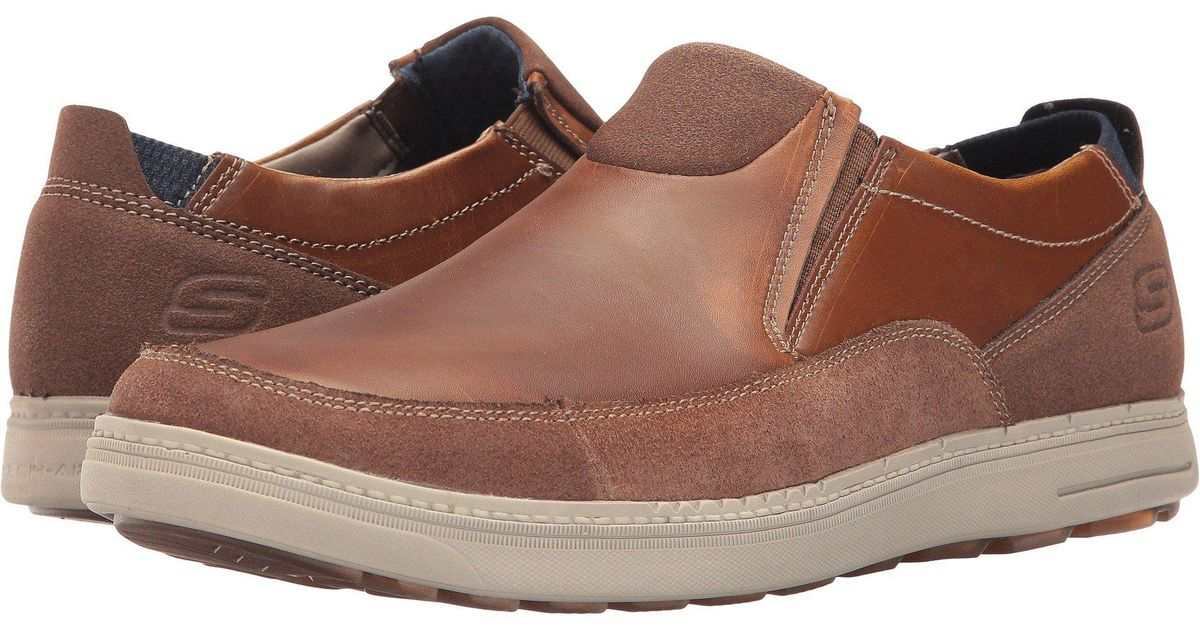 563eb2e8be6 Lyst - Skechers Classic Fit Droven in Brown for Men