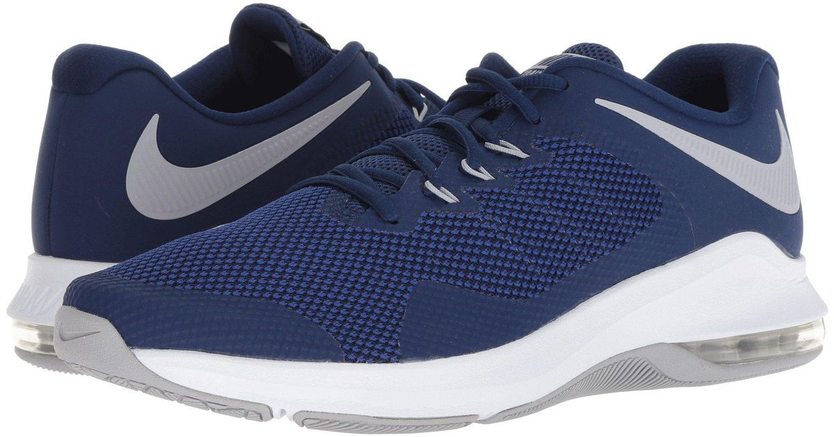 Lyst - Nike Air Max Alpha Trainer (black white) Men s Cross Training Shoes  in Blue for Men faacfe006e