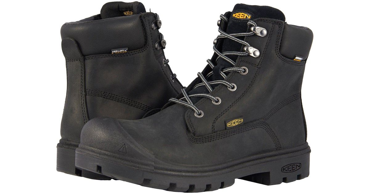 "Keen UtilityBaltimore 6"" WP Soft Toe"