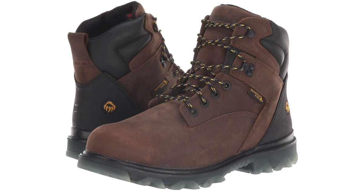 267698cff37 Wolverine Brown 6 I-90 Epx Carbonmax for men