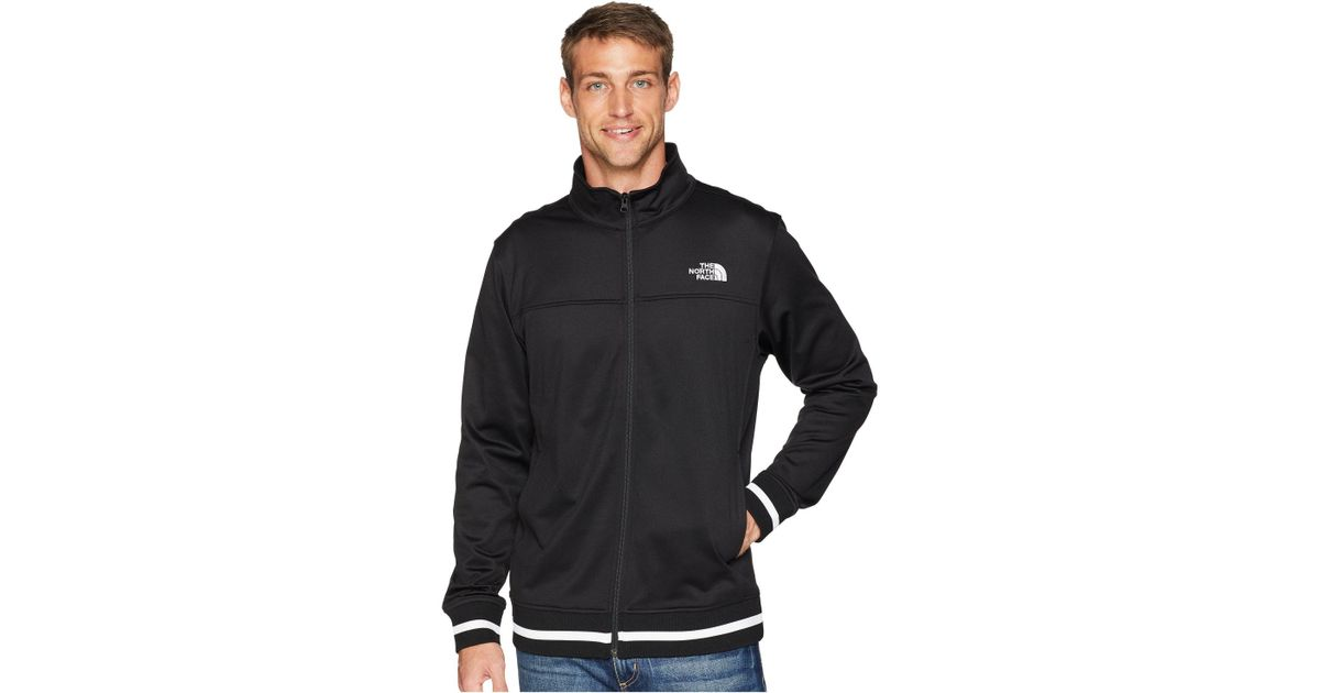 Lyst - The North Face Alphabet City Track Jacket in Black for Men - Save 18% e89fb2d44